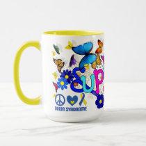 Super Hug Mug for Down Syndrome