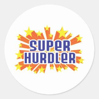 Super Hurdler Sticker