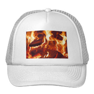 Super Intense Red Flames Trucker Hat