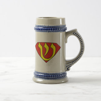 Super Jew Beer Stein