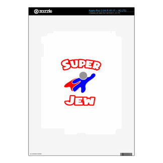 Super Jew Decal For iPad 3