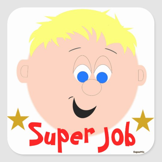 Super Job Sticker