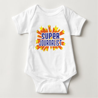 Super Journalist Baby Bodysuit