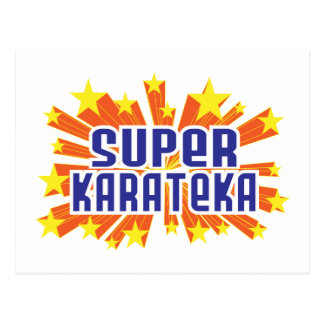Super Karateka Postcard