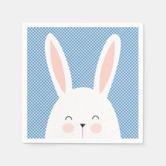 Super Kawaii Cute Easter Bunny. Napkin