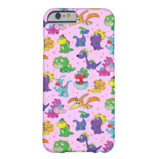 Super Kawaii Dinosaurs Barely There iPhone 6 Case