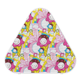 Super Kawaii Ice Cream Cute Patterns Speaker