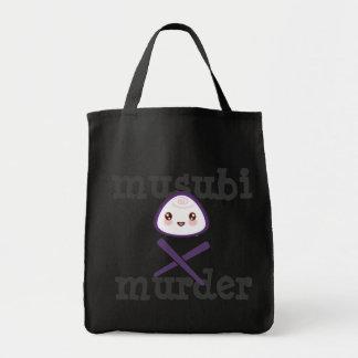 Super Kawaii Musubi Murder Shopping Bag