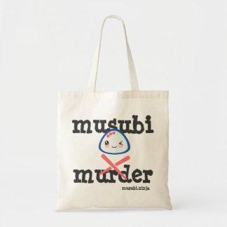 Super Kawaii Musubi Murder Tote Bag