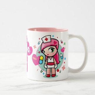 super kawaii nurse mug