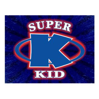 Super Kid Boys Postcard