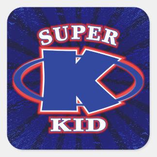 Super Kid Boys Sticker