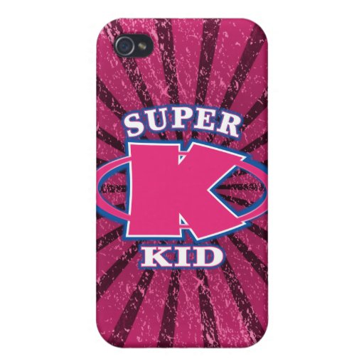 Super Kid Girls Speck® Fitted™ iPhone 4 Case