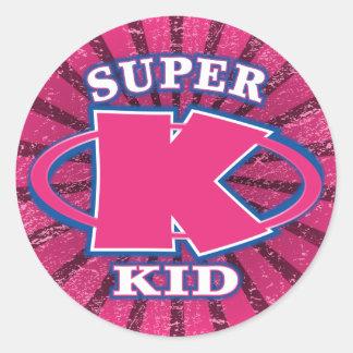 Super Kid Girls Sticker