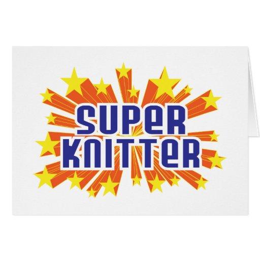 Super Knitter Cards