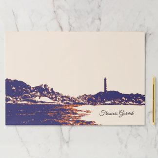 Super Large Vintage Lighthouse Custom Paper Pad