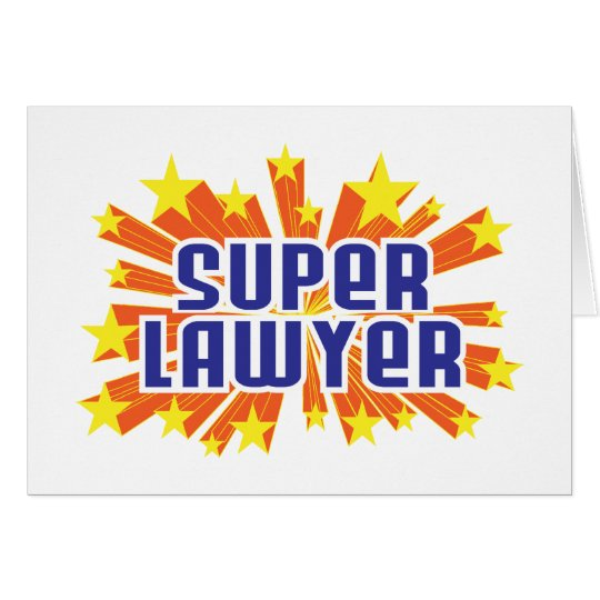 Super Lawyer Card