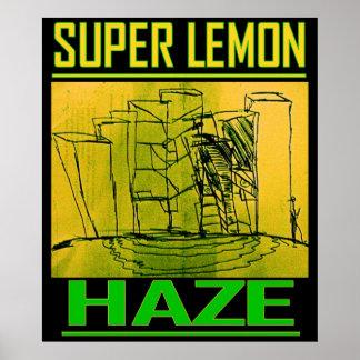 SUPER LEMON HAZE POSTER
