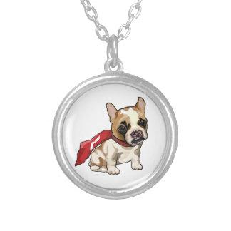 Super Lentil Silver Plated Necklace