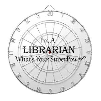 Super Librarian Dart Board