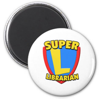 Super Librarian Magnet