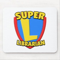 Super Librarian Mouse Pad