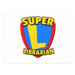 Super Librarian Postcard