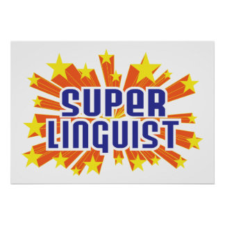 Super Linguist Poster