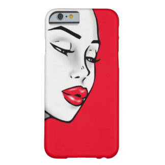 Super Lip Shade Girl (Customizable Lip Color) Barely There iPhone 6 Case