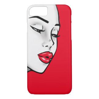 Super Lip Shade Girl (Customizable Lip Color) iPhone 8/7 Case