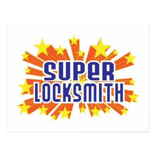 Super Locksmith Postcard