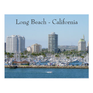Super Long Beach Postcard! Postcard