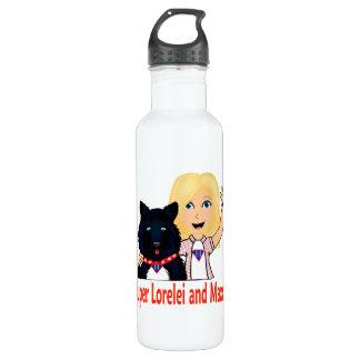 Super Lorelei and Maxx Water Bottle