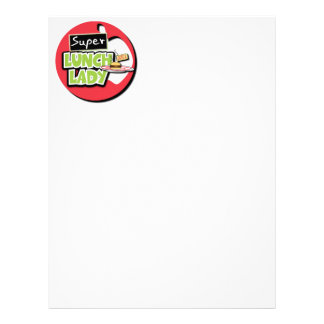 Super Lunch Lady Customized Letterhead