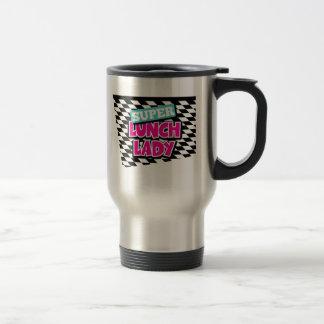 Super Lunch Lady Retro Travel Mug
