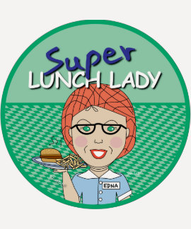 Super Lunch Lady Tee Shirt