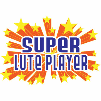 Super Lute Player Cut Out