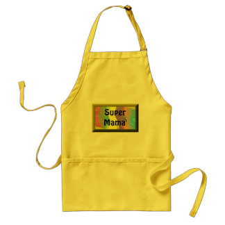 Super Mama' delantal Adult Apron
