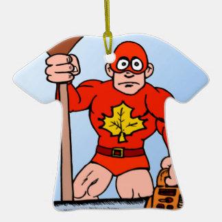 Super man in the garden ornament