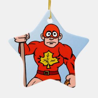 Super man in the garden ornaments