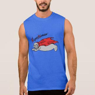 Super Manatee! sleeveless front design Sleeveless Shirt