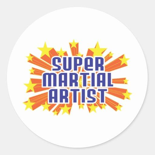 Super Martial Artist Sticker