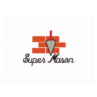 Super Mason Postcard