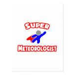 Super Meteorologist Postcard