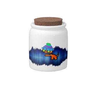 Super Model Cat Candy Jars