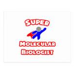 Super Molecular Biologist Postcard