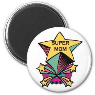 Super Mom 2 Inch Round Magnet