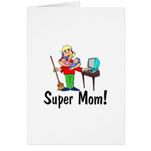 Super Mom (4 Arms) Card