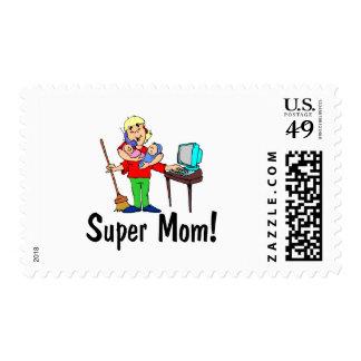 Super Mom (4 Arms) Postage