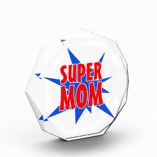 Super Mom Acrylic Award